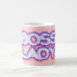 Boss Lady Classic White Mug