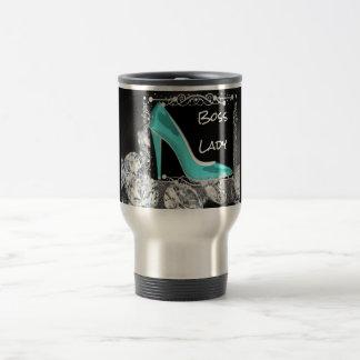 Boss Lady Diamonds Travel Mug