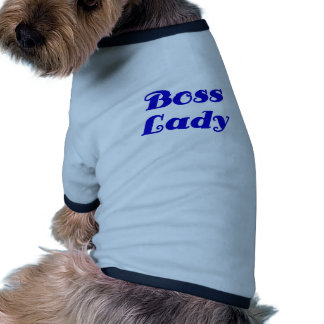 Boss Lady Doggie Tshirt