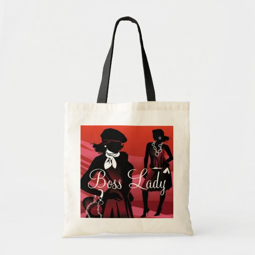 Boss Lady Fashion Budget Tote Tote Bags