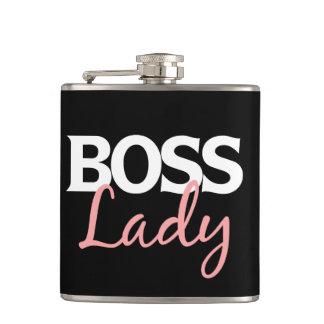 Boss lady flask