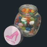 "Boss Lady Glass Candy Jar<br><div class=""desc"">Show your appreciation for your boss lady.</div>"