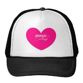Boss Lady Heart Hat