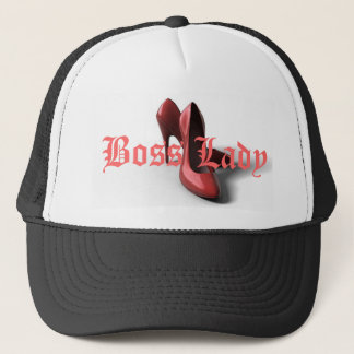 Boss Lady High Heels Shoes Trucker Hat