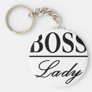 BOSS LADY KEYCHAIN