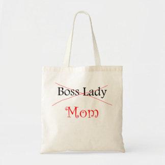 Boss Lady Mom Budget Tote Bag