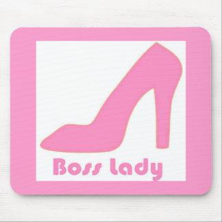 Boss Lady Mouse Pads