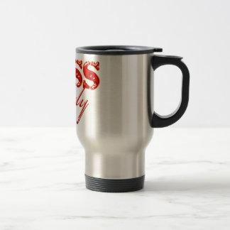 Boss Lady 15 Oz Stainless Steel Travel Mug