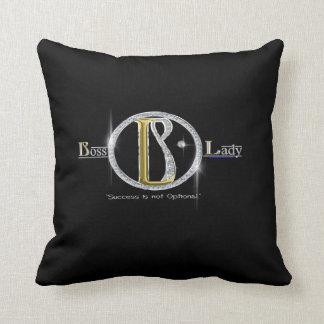 Boss Lady Pillow Bling