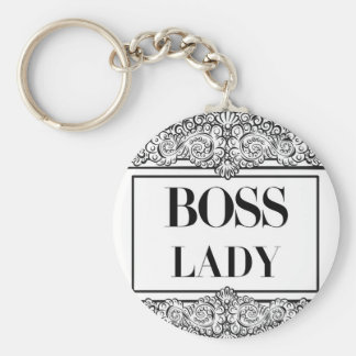 Boss Lady- Positive Quote´s Keychain