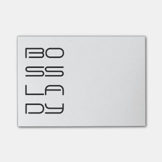 Boss Lady Post-it Notes