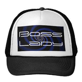 Boss Lady Spiral Trucker Hat