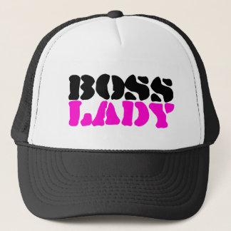 Boss Lady Trucker Hat
