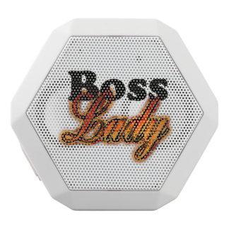 Boss Lady White Bluetooth Speaker