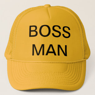 a989566bcb6b3 Boss Man Hats   Caps
