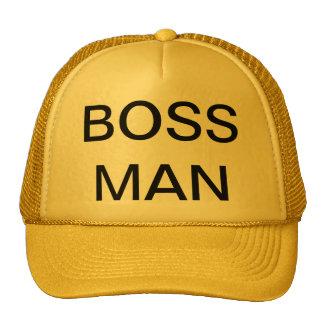 BOSS MAN - CAP TRUCKER HAT