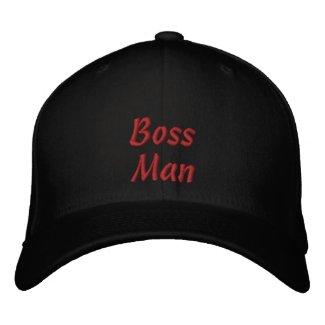 Boss Man Embroidered Baseball Cap Hat