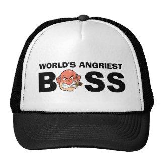 Boss más enojado del mundo gorro