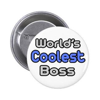Boss más fresco del mundo pin