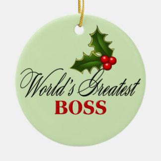 Boss más grande del mundo ornamentos para reyes magos