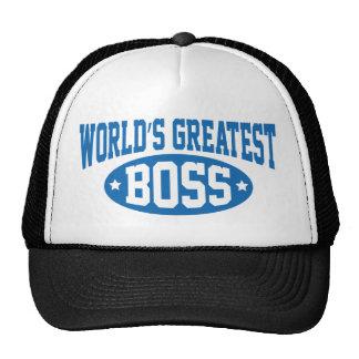 Boss más grande del mundo gorro de camionero