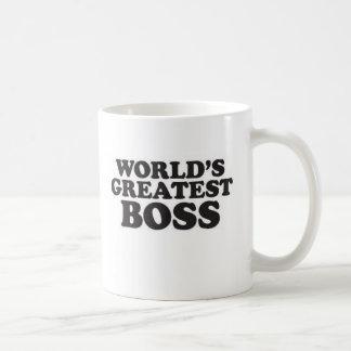 Boss más grande del mundo tazas