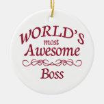 Boss más impresionante del mundo ornato