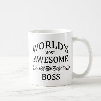 Boss más impresionante del mundo taza