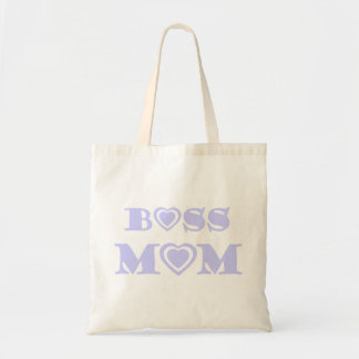 Boss Mom Bag With Lavender Hearts