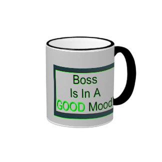 Boss'  Mood Mug