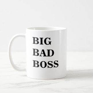 Boss Mug - Funny Name - Big Bad Boss Big Bad Boss