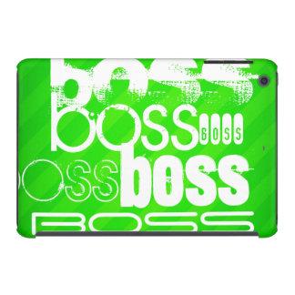 Boss; Neon Green Stripes iPad Mini Retina Case