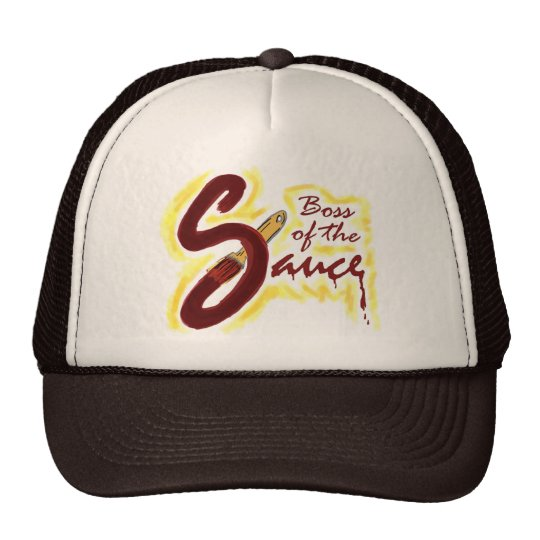 Boss of the Sauce bbq hat