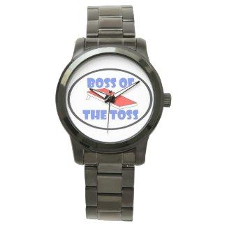 """""""Boss of the Toss"""" wrist watch"""
