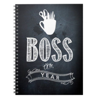 Boss of to year note book