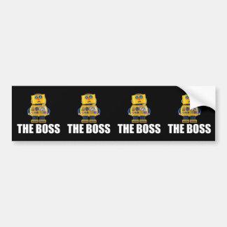 Boss Pegatina Para Auto