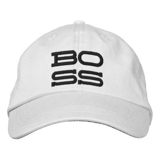 Boss Personalized Adjustable Hat Embroidered Baseball Caps