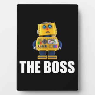 Boss Placa De Plastico