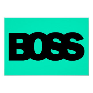 BOSS POSTERS
