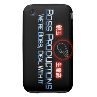 Boss Productions Iphone Case iPhone 3 Tough Cover
