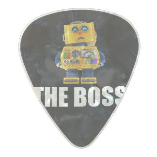 Boss Púa De Guitarra Celuloide Nacarado