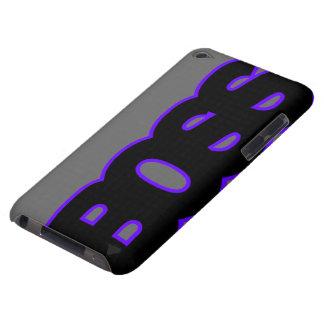 BOSS púrpura de neón iPod Case-Mate Protector