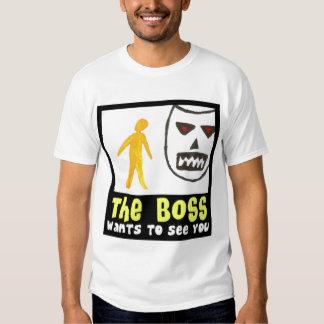 Boss quiere verle camiseta por Mandee Polera