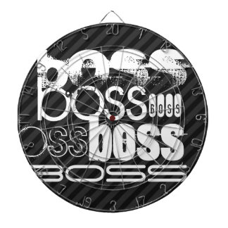 Boss; Rayas negras y gris oscuro
