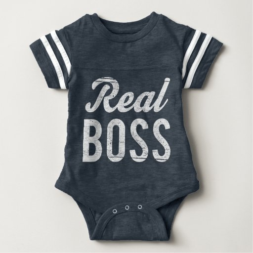 Boss Real Boss (For Baby) Baby Bodysuit