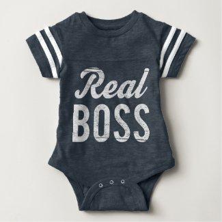 Boss Real Boss (For Baby) Baby Bodysuit