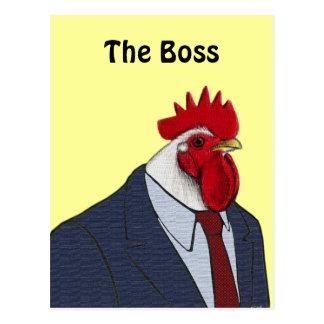 Boss Rooster Postcard
