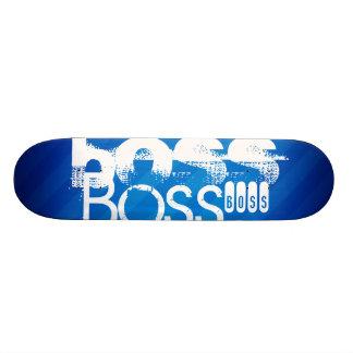 Boss; Royal Blue Stripes Skateboards