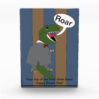 Boss s Day T-Rex Dinosaur Male Award