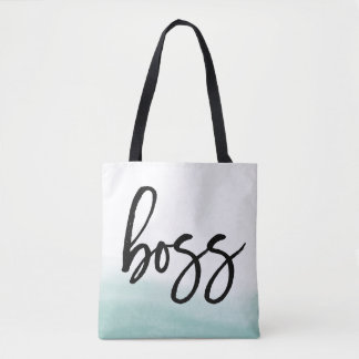 Boss | Sea Watercolor Tote Bag